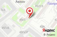 Схема проезда до компании Техноресурс в Москве