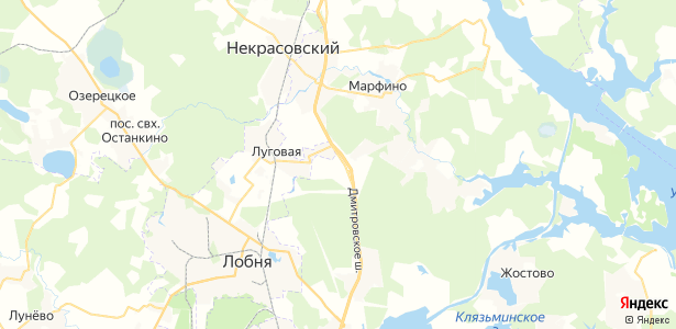 Шолохово на карте