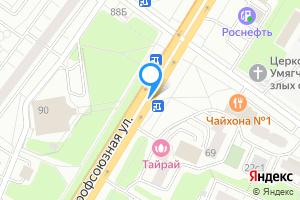 Сдается комната в двухкомнатной квартире в Москве Профсоюзная ул.