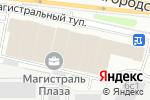 Схема проезда до компании ДорАэроПроект в Москве