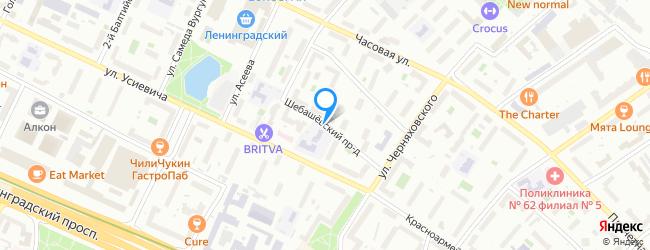 Шебашёвский проезд