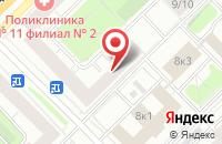 Схема проезда до компании Городской Формат в Москве
