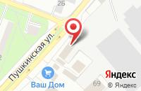 Схема проезда до компании Ф ДМИТРОВСКИЙ ЭКСКАВАТОРНЫЙ ЗАВОД в Дмитрове