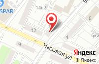 Схема проезда до компании Мастер-Опт в Москве
