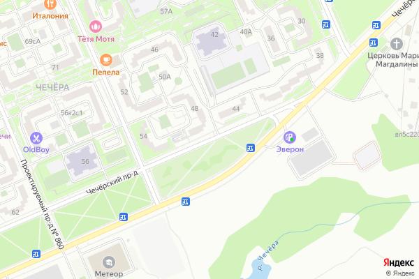 Ремонт телевизоров Чечерский проезд на яндекс карте