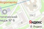 Схема проезда до компании Русские Дали в Москве