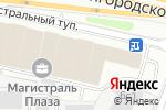 Схема проезда до компании Техком в Москве