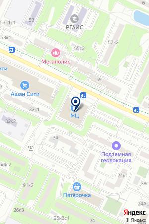 СПЕЦИАЛИЗИРОВАННОЕ УПРАВЛЕНИЕ ПО РЕКОНСТРУКЦИИ ГАЗОПРОВОДОВ на карте Москвы
