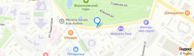 улица Воронцовские Пруды