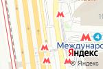 Схема проезда до компании Станция Международная в Москве