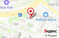 Схема проезда до компании Мэнч-М в Москве