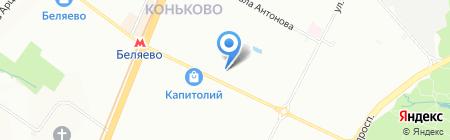 АйБиОн строй на карте Москвы