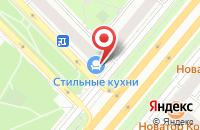 Схема проезда до компании Истстрой в Москве