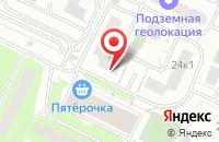Схема проезда до компании Алекс-В в Москве