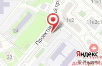 Схема проезда до компании Инфоинтер в Москве