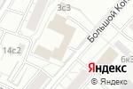 Схема проезда до компании Межрегиональный Союз Проектировщиков в Москве