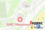 Схема проезда до компании Российский центр капоэйры в Москве