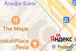 Схема проезда до компании Валентика в Москве