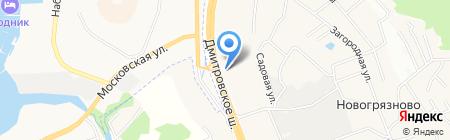 Баня и сауна на карте Грибков