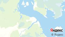 Отели города Противье на карте