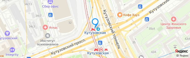 метро Кутузовская