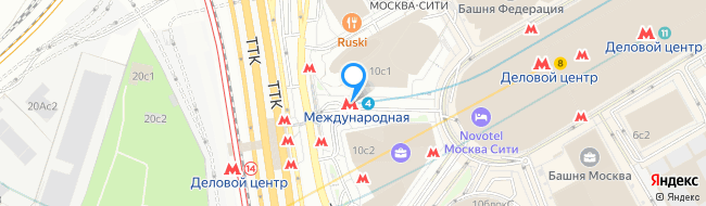 метро Международная