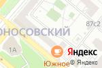 Схема проезда до компании СТРАЙКБОЛ СПОРТ в Москве