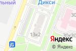 Схема проезда до компании МегаМастер в Москве