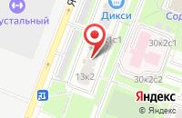 Схема проезда до компании Алмаз-Холдинг и Ко в Москве