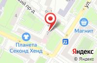 Схема проезда до компании Стройград в Москве