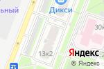 Схема проезда до компании Интелл-Защита в Москве