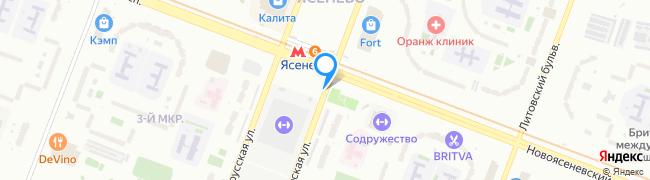 Ясногорская улица