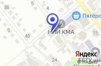 Схема проезда до компании СТРОИТЕЛЬНАЯ КОМПАНИЯ ДОРСТРОЙПРОМИНВЕСТ в Губкине