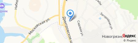 Мир Красок на карте Грибков