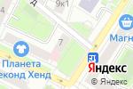 Схема проезда до компании Бьянка люкс в Москве