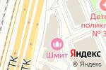 Схема проезда до компании Это Красиво в Москве