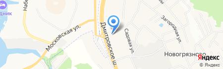 Бильярд-маркет на карте Грибков