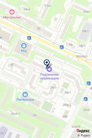 ПРЕДПРИЯТИЕ АВАРИЙНО-ВОССТАНОВИТЕЛЬНЫХ РАБОТ И ЭКСПЛУАТАЦИИ СИСТЕМ ГАЗОСНАБЖЕНИЯ МОСТРАНСГАЗ на карте Москвы