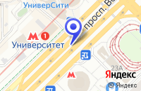 Схема проезда до компании КИНОВИДЕОКОМПАНИЯ ТЕЛЕФОРМАТ в Москве