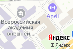 Схема проезда до компании Сбербанк Лизинг в Москве