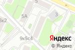 Схема проезда до компании Оконщик в Москве