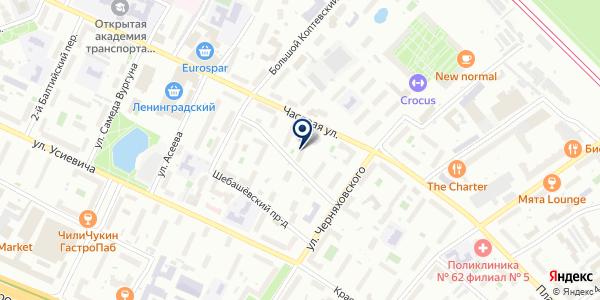 Оконщик на карте Москве