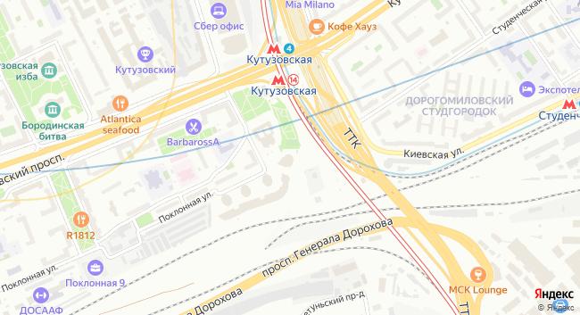 Многофункциональный комплекс Poklonka Place - превью 2