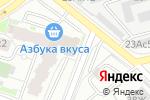 Схема проезда до компании Фуд Милк в Москве