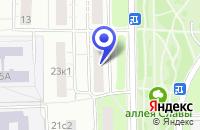 Схема проезда до компании ЭНДОФАРМ в Москве