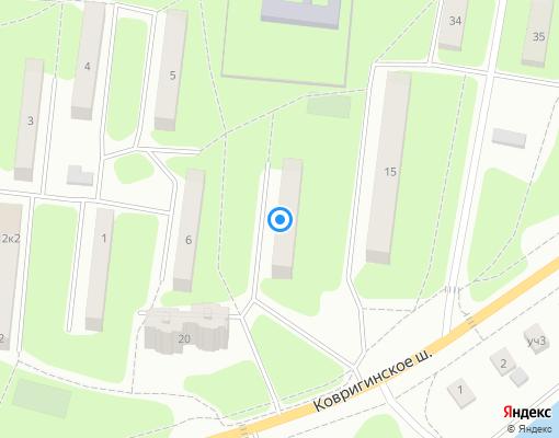 Жилищно-строительный кооператив «Cтанкостроитель № 1» на карте Дмитрова