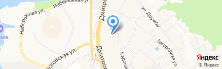 Netvody на карте Грибков
