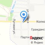 Московский на карте Подольска