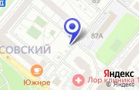 Схема проезда до компании ТФ ТИГРИС-С в Москве