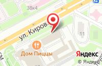 Схема проезда до компании Меда в Подольске